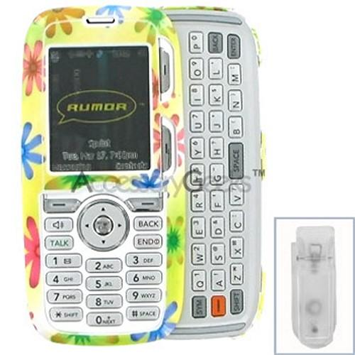 LG Rumor Hard Case - Spring Flower
