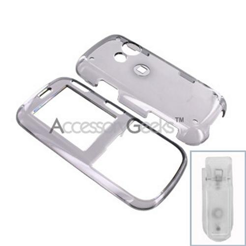 Sprint LG Rumor 2 / LG Cosmos Hard Case - Transparent Smoke