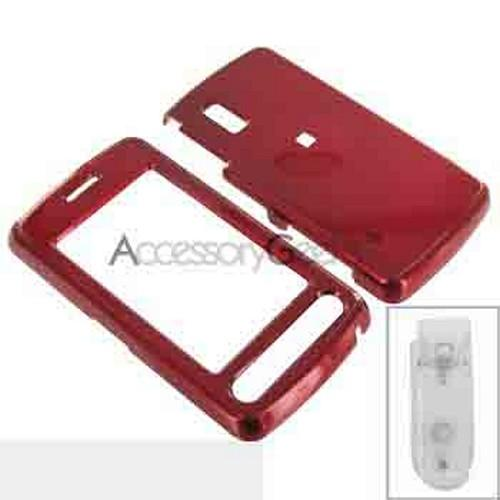 LG Vu Hard Case - Red