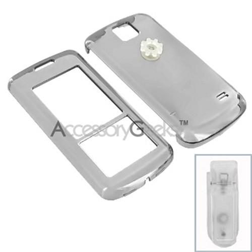 LG Venus Protective Hard Case - Transparent Smoke