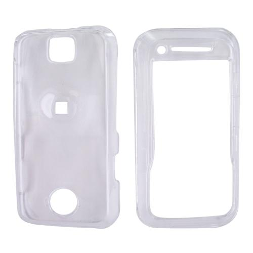 Motorola Rival A455 Hard Case - Transparent Clear
