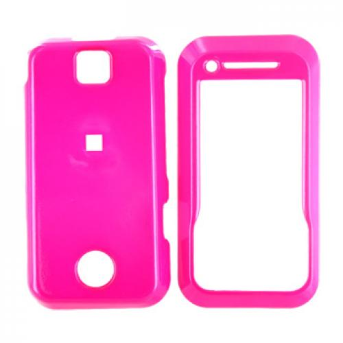 Motorola Rival A455 Hard Case - Hot Pink