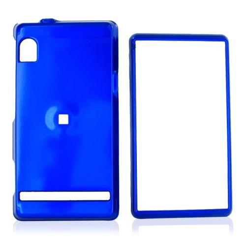 Motorola Droid A855 / Milestone Hard Case - Blue