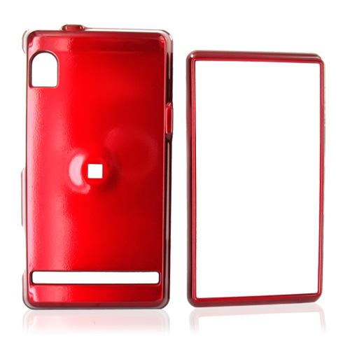 Motorola Droid A855 / Milestone Hard Case - Red