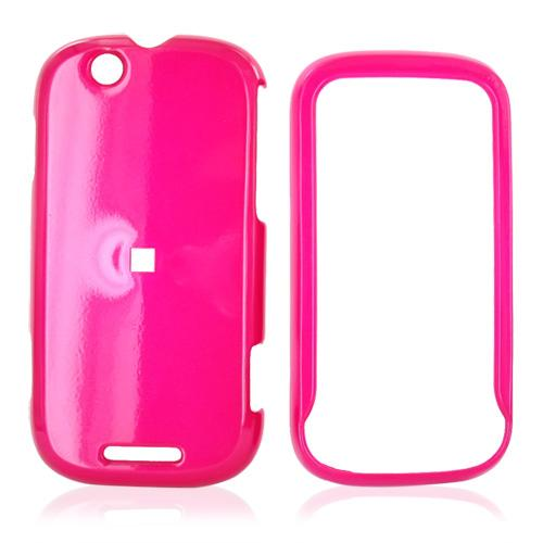 Motorola CLIQ Hard Case - Hot Pink
