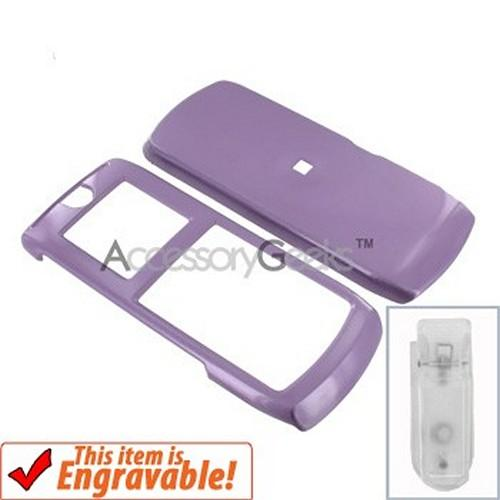Motorola i290 Hard Case - Light Purple