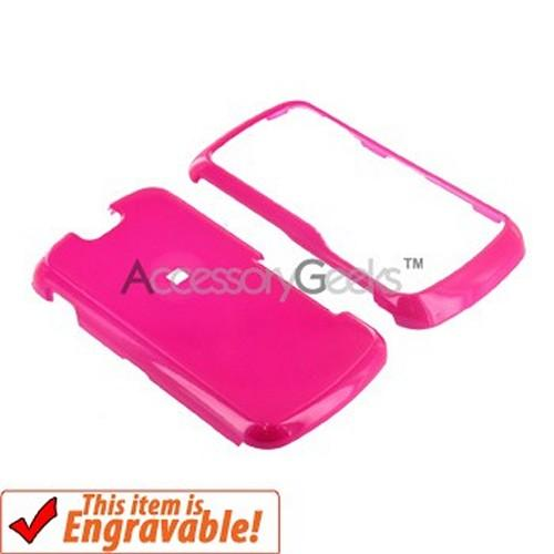 Motorola Clutch i465 Hard Case - Hot Pink