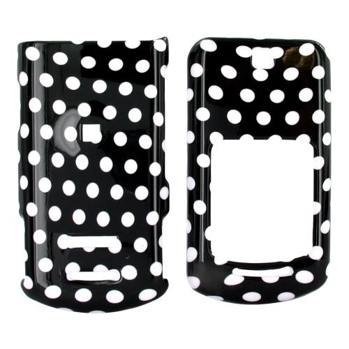 Motorola VE465 Hard Case - Polka Dots