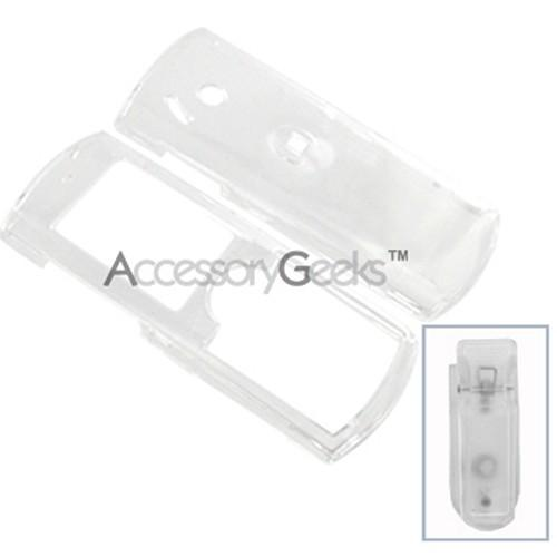 Pantech C150 Protective Hard Case - Transparent Clear