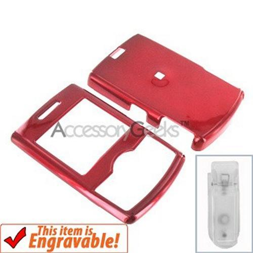Samsung Propel Hard Case - Red