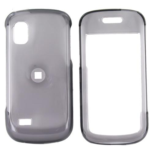 Samsung Solstice A887 Hard Case - Transparent Smoke