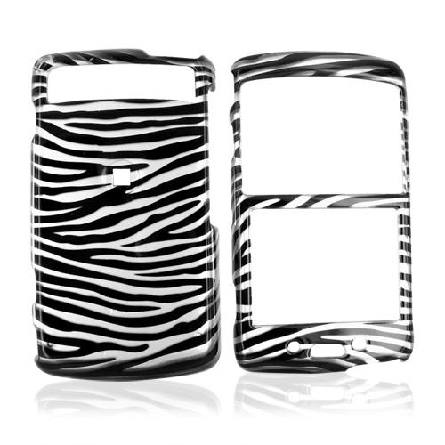 Samsung Intrepid i350 Hard Case - Silver/Black Zebra
