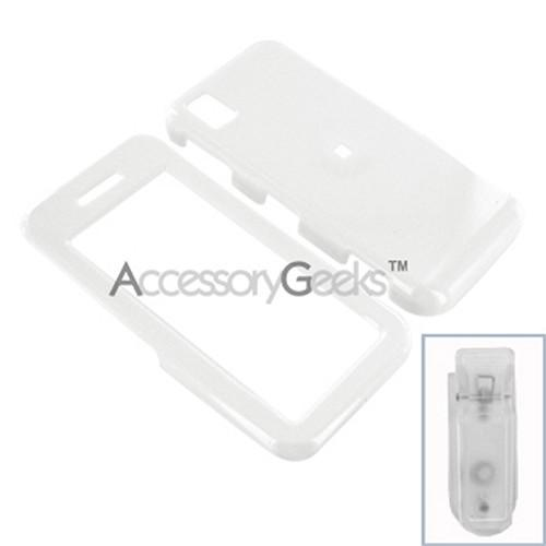 Samsung Instinct Hard Case - White