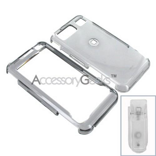 Samsung Omnia Hard Case - Transparent Smoke
