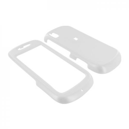 Samsung Instinct S30 Hard Case - White