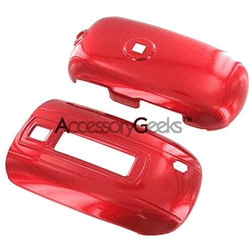 Samsung T329 Protective Hard Case - Red