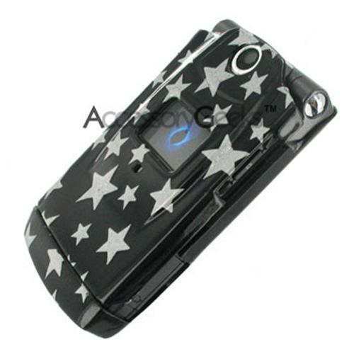Sanyo 6600 Katana Silver Star on Black Hard Case w/ Clip