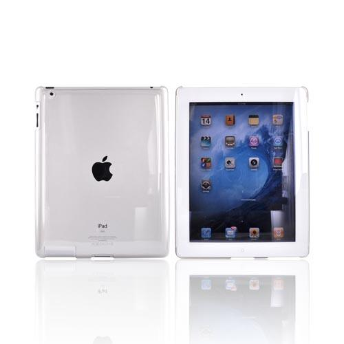Apple iPad 2nd Gen Hard Back Cover Case - Transparent Clear
