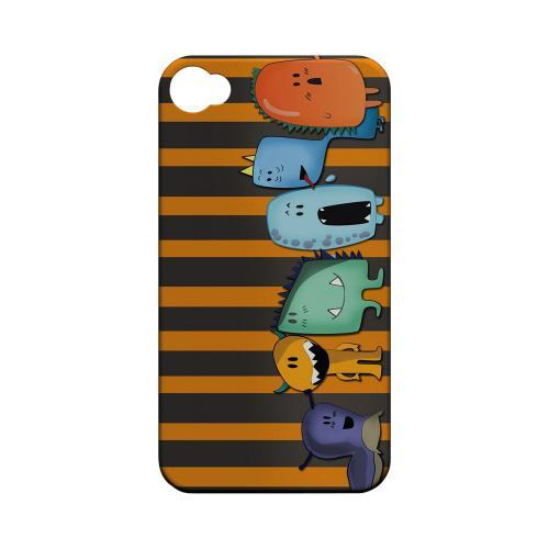 Geeks Designer Line (GDL) Apple iPhone 4/4S Matte Hard Back Cover - ZORGBLATS Line Up