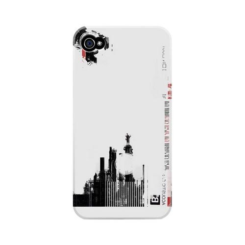 Geeks Designer Line (GDL) Retro Series Apple iPhone 4/4S Matte Hard Back Cover - Factory B