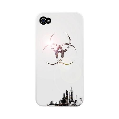 Geeks Designer Line (GDL) Retro Series Apple iPhone 4/4S Matte Hard Back Cover - Ghost Town