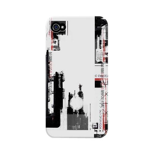 Geeks Designer Line (GDL) Retro Series Apple iPhone 4/4S Matte Hard Back Cover - Industrial District