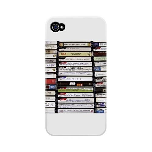 Geeks Designer Line (GDL) Retro Series Apple iPhone 4/4S Matte Hard Back Cover - VHS