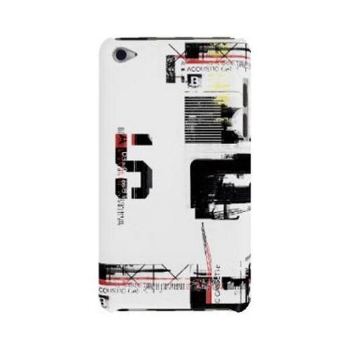 Geeks Designer Line (GDL) Retro Series Apple iPod Touch 4 Slim Hard Back Cover - District 5