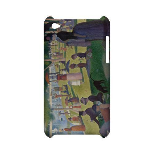 Georges Seurat Sunday Afternoon on the Island of La Grand Jatte Geeks Designer Line Artist Series Slim Hard Case for Apple iPod Touch 4