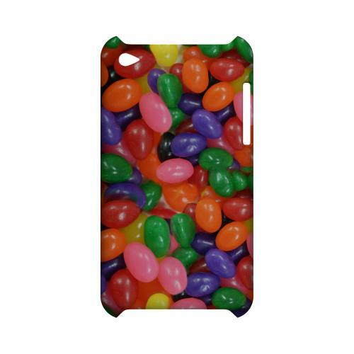 Assorted Jelly Beans Geeks Designer Line Candy Series Slim Hard Back Cover for Apple iPod Touch 4