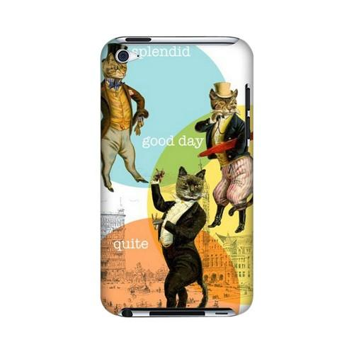 Dandy Kitties Americana Nostalgia Series GDL Slim Hard Case for iPod Touch 4 Geeks Designer Line