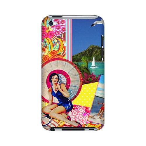 Paradise Americana Nostalgia Series GDL Ultra Slim Hard Case for Apple iPod Touch 4 Geeks Designer Line