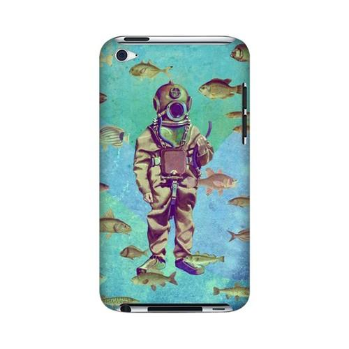 Bloop Bloop Americana Nostalgia Series GDL Ultra Slim Hard Case for Apple iPod Touch 4 Geeks Designer Line