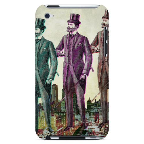New York Like A Sir Americana Nostalgia Series GDL Ultra Slim Hard Case for Apple iPod Touch 4 Geeks Designer Line