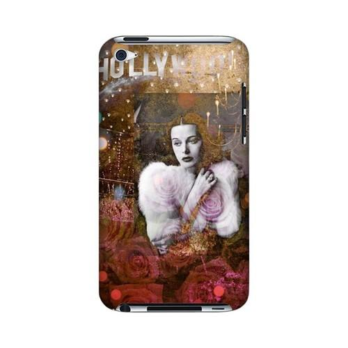 Hollywood Glam Americana Nostalgia Series GDL Ultra Slim Hard Case for iPod Touch 4 Geeks Designer Line