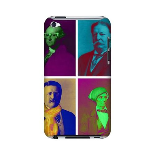Hip Before It Was Cool Americana Nostalgia Series GDL Ultra Slim Hard Case for iPod Touch 4 Geeks Designer Line
