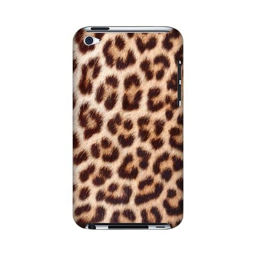 Leopard Close-Up Print Animal Series GDL Ultra Slim Hard Case for Apple iPod Touch 4 Geeks Designer Line