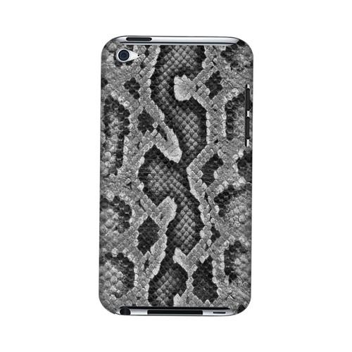 Gray Snake Skin Animal Series GDL Ultra Slim Hard Case for Apple iPod Touch 4 Geeks Designer Line
