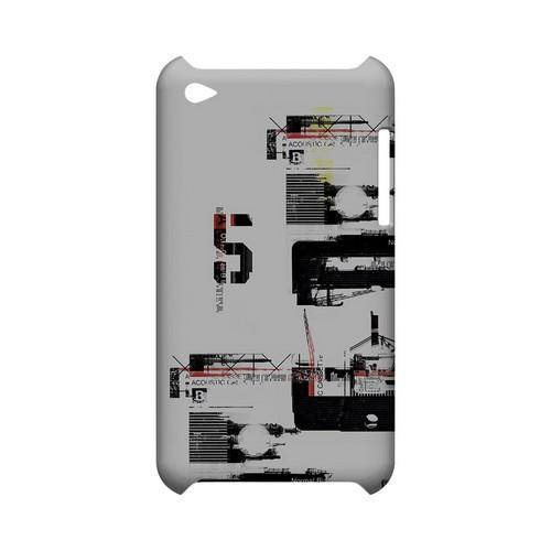 District 5 - Geeks Designer Line (GDL) Retro Series Hard Back Cover for Apple iPod Touch 4