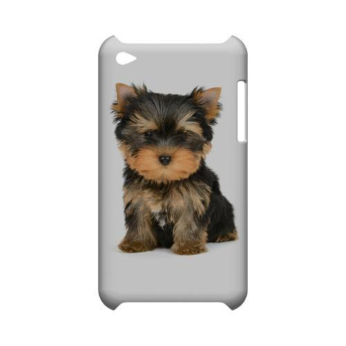 Yorkie Geeks Designer Line Puppy Series Slim Hard Case for Apple iPod Touch 4