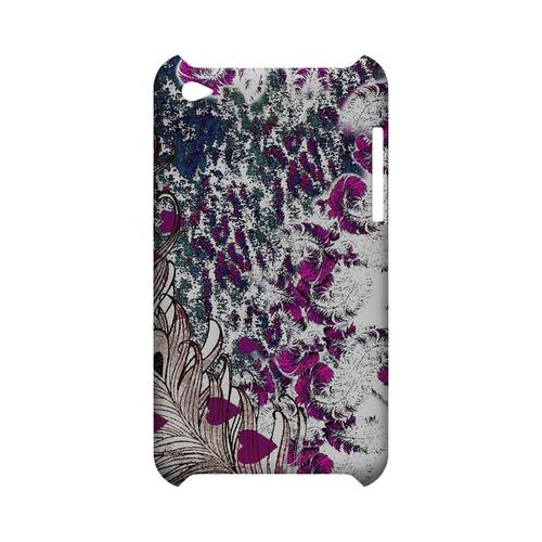 Feather Love - Geeks Designer Line (GDL) Asian Print Series Hard Back Cover for Apple iPod Touch 4