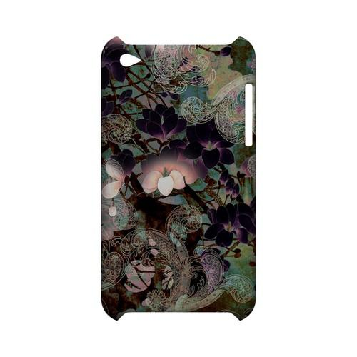 Lacy Flowers - Geeks Designer Line (GDL) Asian Print Series Hard Back Cover for Apple iPod Touch 4