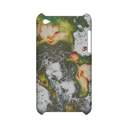 Lotus Flowers - Geeks Designer Line (GDL) Asian Print Series Hard Back Cover for Apple iPod Touch 4