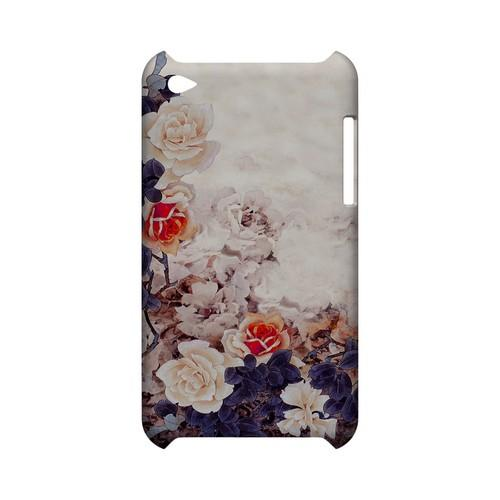 Vintage Roses - Geeks Designer Line (GDL) Asian Print Series Hard Back Cover for Apple iPod Touch 4