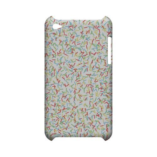 SPRINKLES! Geeks Designer Line Candy Series Slim Hard Back Cover for Apple iPod Touch 4