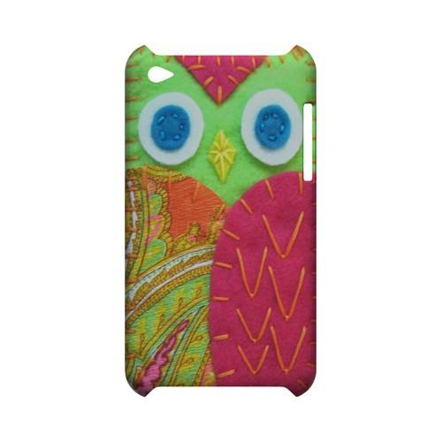 Neon Green/ Pink Geek Nation Program Exclusive Jodie Rackley Series Hard Case for Apple iPod Touch 4