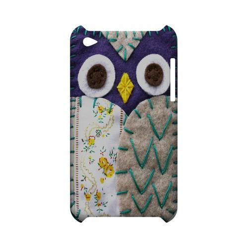 Blue/ Gray Owl Geek Nation Program Exclusive Jodie Rackley Series Hard Case for Apple iPod Touch 4