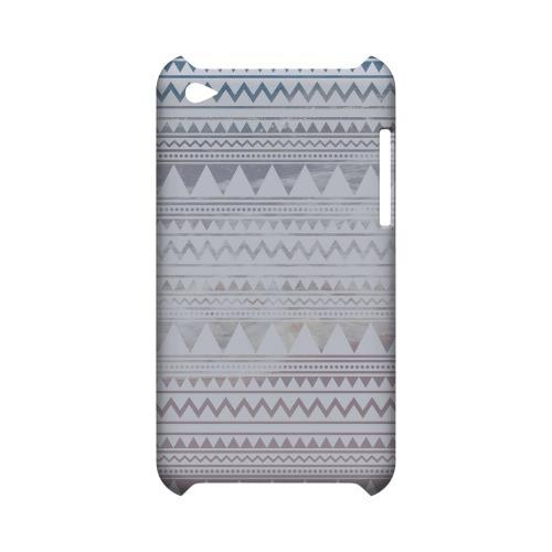 Beach Pattern Geeks Designer Line Zig Zag Series Slim Hard Case for Apple iPod Touch 4