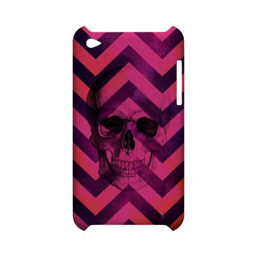 Pink Space Death Geeks Designer Line Zig Zag Series Slim Hard Case for Apple iPod Touch 4