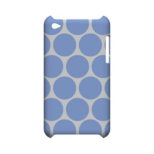 Big & Sky Blue Geeks Designer Line Polka Dot Series Slim Hard Case for Apple iPod Touch 4